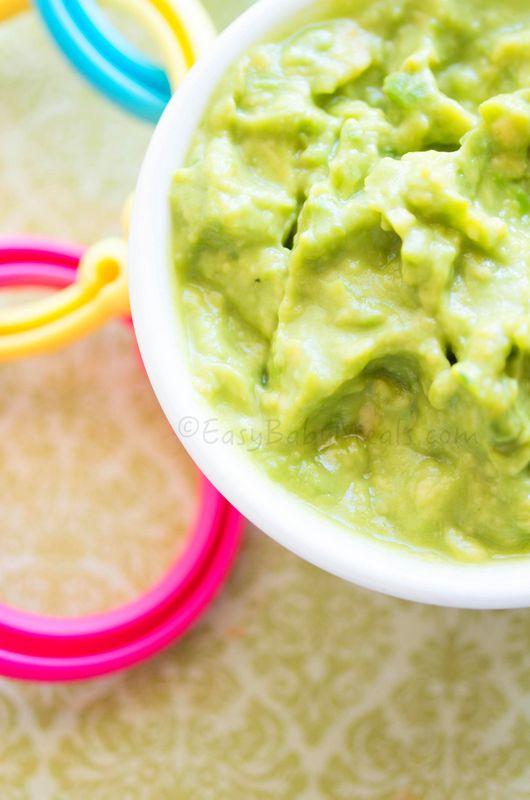 Avocado Puree - Easy Baby Meals