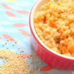 Millet With Broccoli And Carrot- Easy Baby Meals-www.easybabymeal.com