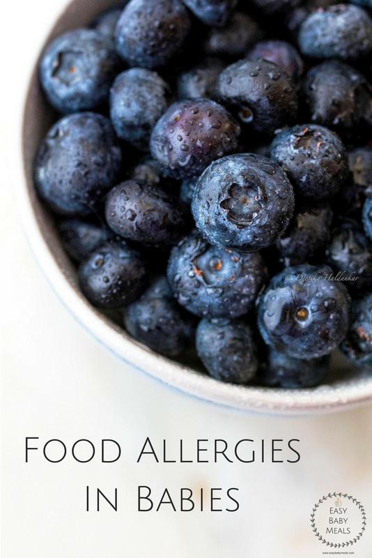 Food Allergies In Babies- Easy Baby Meals-www.easybabymeals.com