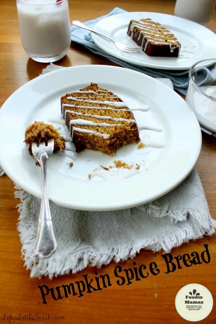 Vegan Pumpkin Spice Bread FoodieMamas with watermarks 2212x3318