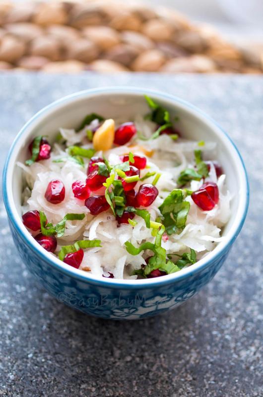 Turnip Pomegranate Salad1