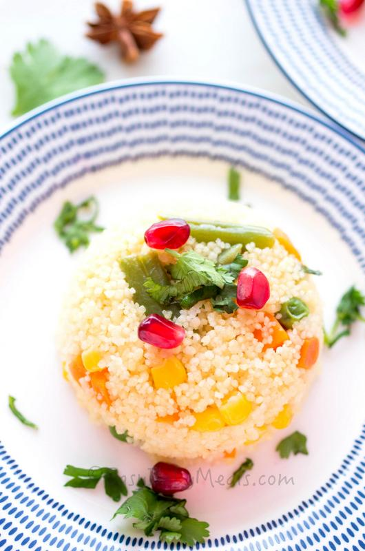 Vegetable Couscous Pilaf