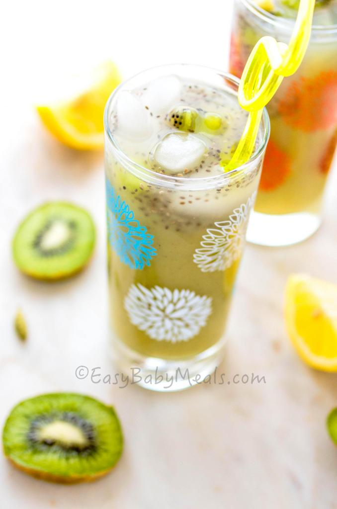 Kiwi Lime Lemonade- Easy Baby Meals