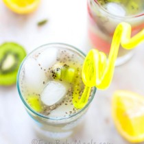 Kiwi Lime Lemonade- Easy Baby Meals-www.easybabymeals.com