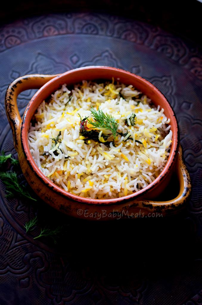 Lemon And Dill Rice Pilaf