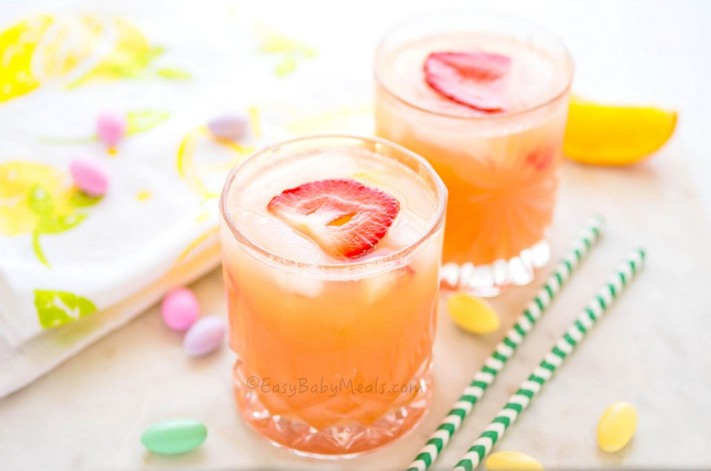 Orange Strawberry Juice