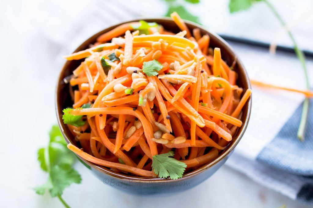 Quick Carrot Salad- www.easybabymeals.com
