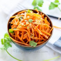 Quick Carrot Salad- Easy Baby Meals-www.easybabymeals.com