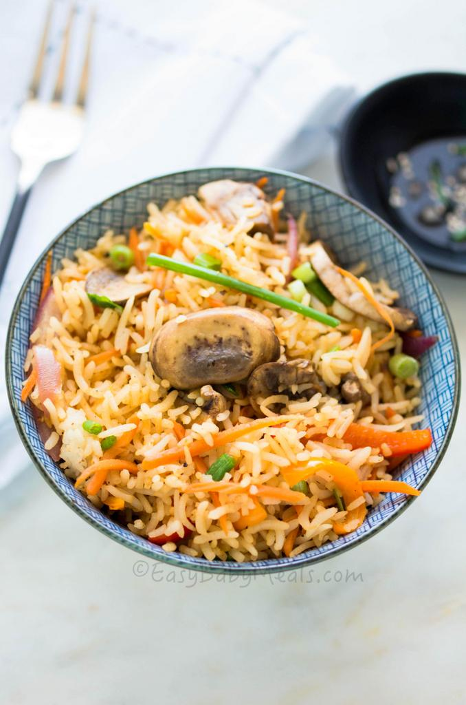 Check out this Quick Mushroom Fried Rice along with other 9 Delicious ...