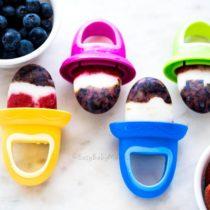 Berry Yogurt Popsicles-Easy Baby Meals-www.easybabymeals.com