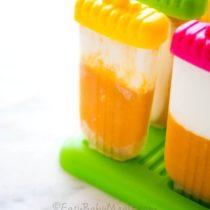 Mango Vanilla Popsicles