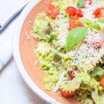 Avocado Pasta- Easy Baby Meals-www.easybabymeals.com