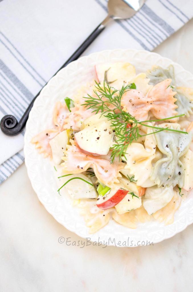Cucumber Pickel Pasta Salad