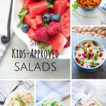Six Kids Approved Salads