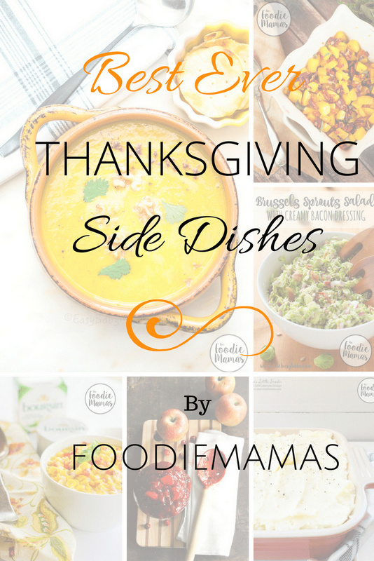 Best Thanksgiving Side Dishes from FoodieMamas