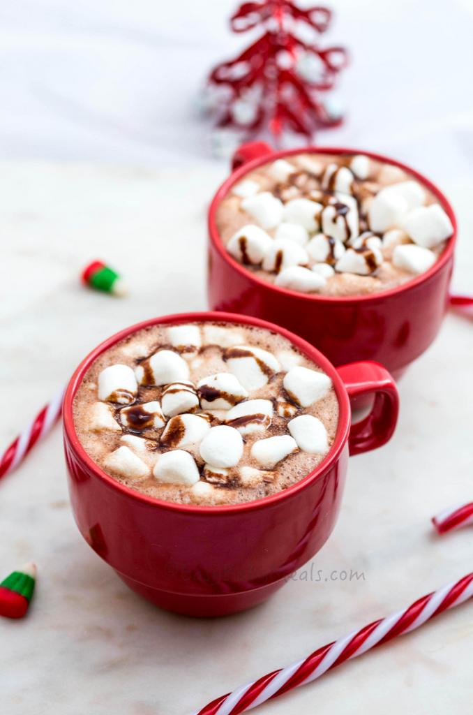Cinnamon Hot Chocolate- Easy Baby Meals