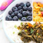 Collard Greens Stew- Easy Baby Meals