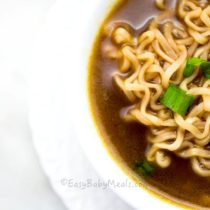 Quick Noodles Soup- Easy Baby Meals