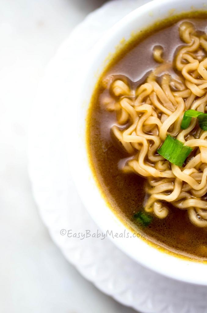 Quick Noodles Soup- A comfort food.