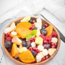 Kids Friendly Winter Salad- Easy Baby Meals-www.easybabymeals.com
