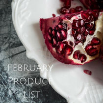 February Produce List+Recipes- Easy Baby Meals-www.easybabymeals.com