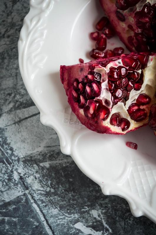 Ingredient- Pomegranate Chia Punch- A refreshing drink.