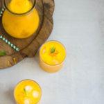 Mango Turmeric Smoothie- Easy Baby Meals-www.easybabymeals.com
