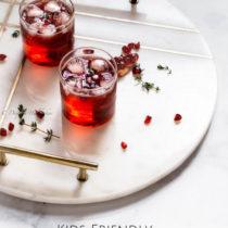 Kids Friendly Pomegranate Fizz- Easy Baby Meals-www.easybabymeals.com