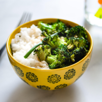 Stir Fry Broccoli. A quick side meal for toddlers, kids and grown-ups.
