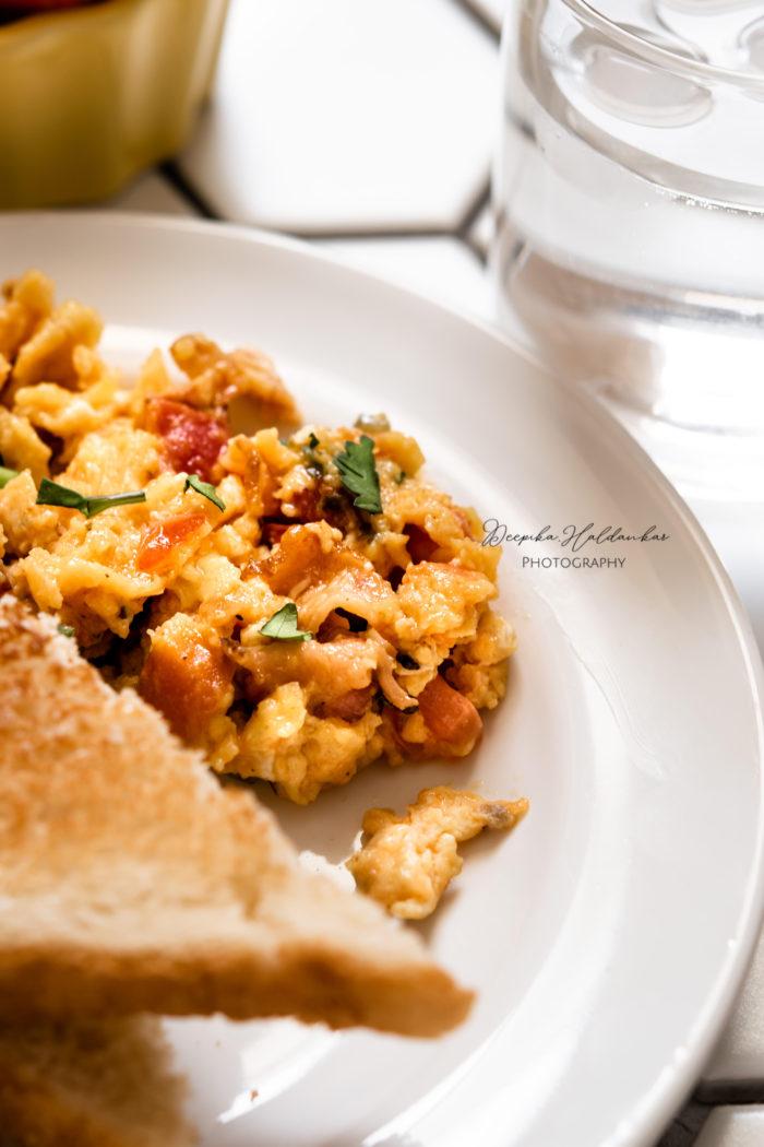 Kids Friendly Quick Breakfast Scramble