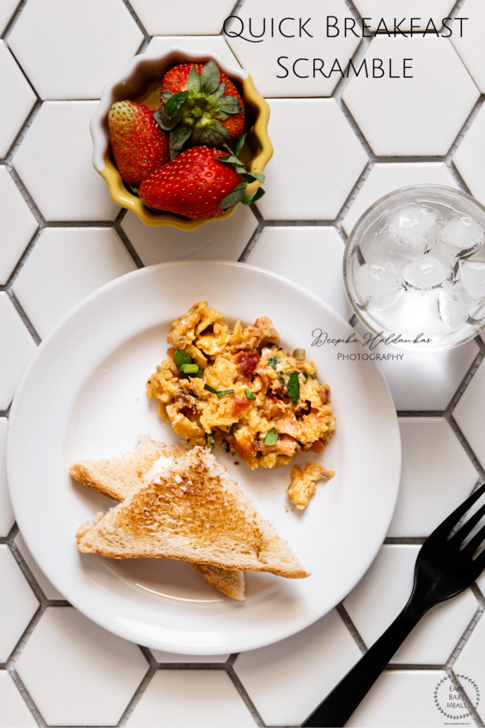 How to make Quick Breakfast Scramble