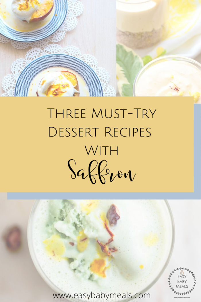 Three Must-Try Dessert Recipes With Saffron